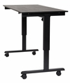 """Luxor 60"""" 3-Stage Dual-Motor Electric Stand Up Desk  - STANDE-60-BK/BO"""