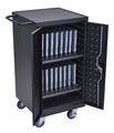 Luxor Tablet Charging Cart - LLTP18-B