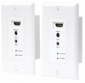 Manhattan Products 1080p HDMI over Ethernet Extender Wallplate Kit - 207607