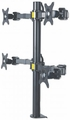 Manhattan Products LCD Monitor Mount with Double-Link Swing Arms - 461122