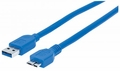 Manhattan Products SuperSpeed USB Micro-B Device Cable - 325431