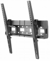 Manhattan Products Universal Flat-Panel TV Tilting Wall Mount with Integrated Storage Area - 461450