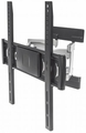 Manhattan Products Universal Ultra Slim Aluminum LCD Full-Motion Large-Screen Wall Mount - 461313