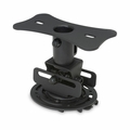 Mustang Low Profile Universal Projector Mount Black - MV-PROJSP-FLAT