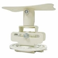 Mustang Low Profile Universal Projector Mount White - MV-PROJSP-FLAT-W
