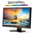 "NEC 24"" LED Backlit IPS Professional Desktop Monitor with SpectraView II - P242W-BK-SV"