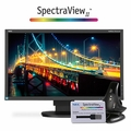 "NEC 24"" UHD Widescreen Desktop Monitor w/ IPS Panel and SpectraViewII Color Calibration Solution - EA244UHD-BKSV"