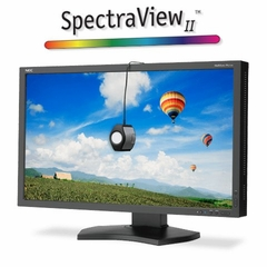 "NEC 27"" Color Critical Desktop Monitor with SpectraViewII (Black) - PA272W-BK-SV"