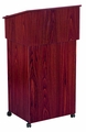 Oklahoma Sound AV Cart/Lectern Base (Mahogany) - 112-MY