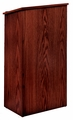 Oklahoma Sound Full Floor Lectern (Mahogany) - 222-MY