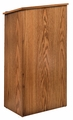 Oklahoma Sound Full Floor Lectern (Medium Oak) - 222-MO