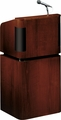 Oklahoma Sound Tabletop & Base Combo Sound Lectern (Mahogany on Walnut) - 950/901-MY/WT