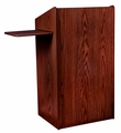 Oklahoma Sound The Aristocrat Non-Sound Lectern (Mahogany) - 600-MY