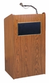 Oklahoma Sound The Aristocrat Sound Lectern (Sound, Medium Oak) - 6010-MO
