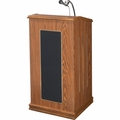 Oklahoma Sound The Prestige Lectern (Medium Oak) - 711-MO