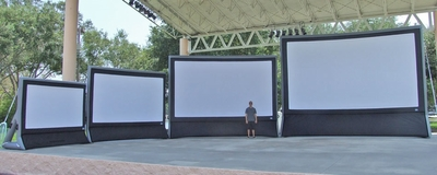 Diy Outside Projector Screen