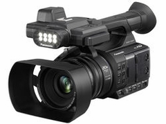 Panasonic Full-HD AVCCAM Handheld Camera - AG-AC30