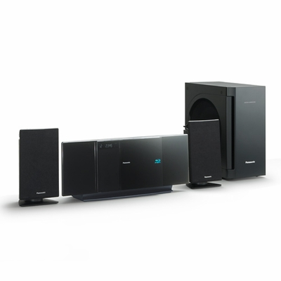 Panasonic Vertical Design Blu Ray Home Theater System SC BTX70