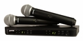 Shure Dual Channel Handheld Wireless System - H9 Frequency - BLX288/PG58-H9