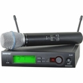 Shure Handheld Wireless System, H5 Frequency - SLX24/BETA87C-H5