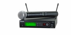 Shure Handheld Wireless System, H5 Frequency - SLX24/SM58-H5