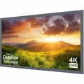 "Sunbrite 43"" Signature Series 4K Ultra HD Partial Sun Outdoor TV, Silver - SB-S-43-4K-SL"