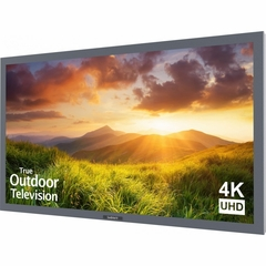 "Sunbrite 55"" Signature Series 4K Ultra HD Partial Sun Outdoor TV, Silver - SB-S-55-4K-SL"