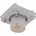 "Sunbrite Ceiling Mount Swivel Adaptor with 3"" fixed pipe � allows smooth axis rotation with the ability to lock position from 0 degrees-330 degrees.  Attaches to 1 �� NPT threaded extension column (weight capacity 500 lbs)  (Use with SB-CM46A12 and SB-CM46A12B) , Silver - SB-CMSAK-SL"