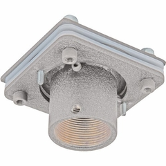 "Sunbrite Ceiling Mount Swivel Adaptor with 3"" fixed pipe – allows smooth axis rotation with the ability to lock position from 0 degrees-330 degrees.  Attaches to 1 ½"" NPT threaded extension column (weight capacity 500 lbs)  (Use with SB-CM46A12 and SB-CM46A12B) , Silver - SB-CMSAK-SL"