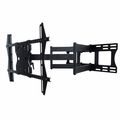 "Sunbrite Dual Arm Articulating Wall Mount with tilt, swivel and pan for 37"" - 80"" Outdoor TVs, Black - SB-WM-ART2-L-BL"