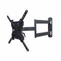 "Sunbrite Single Arm Articulating Wall Mount for 43"" - 65"" Outdoor TVs, Black - SB-WM-ART1-M-BL"
