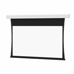 Tensioned Wall Mounted Electric Screen - Hard Wired