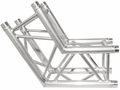TRUSST 290mm (12in) Truss, 2-Way, 120� Corner - CT290-4120C