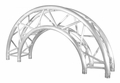 TRUSST 290mm (12in) Truss arc (180�), creates 1.5m (4.9ft) outside diameter circle - CT290-415CIR-180