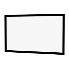 Wide Frame Permanent Wall Screen