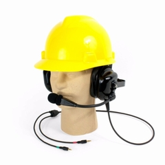 Williams Sound Dual muff hardhat headset microphone - MIC 088