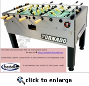 Tornado Tournament 3000 Table -- SHIPPING INCLUDED*