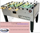 Tornado Tournament 3000 Table- SHIPPING INCLUDED*