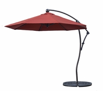 9' Octagonal Cantilever Umbrella with Paver Base (MF)