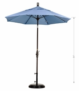 9' Single Vented Octagon Umbrella (UPS $45)
