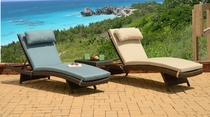 """All Weather"" Grenada Chaise Lounge Set of 2 (MF)"