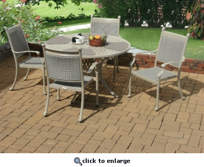 Allegra Dining Set of Five (MF)