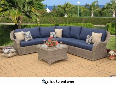 Bahama Sectional 5 Piece Set (MF)