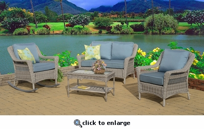 Cape May Rocker Porch Set of Four (MF)