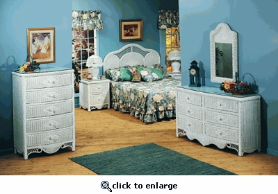 Charlotte Queen Bedroom Set (MF)