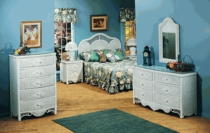 Charlotte Two Drawer Night Stand (UPS $80)