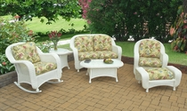 Coral Bay Lounge Set (White Only) (MF)