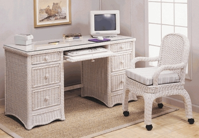 Deluxe Computer Desk & Chair