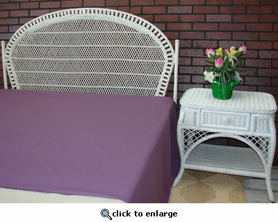 Fan Queen Headboard ONLY (UPS $70)