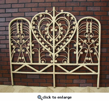 Heart Double Headboard (UPS $70) (Save 20%)